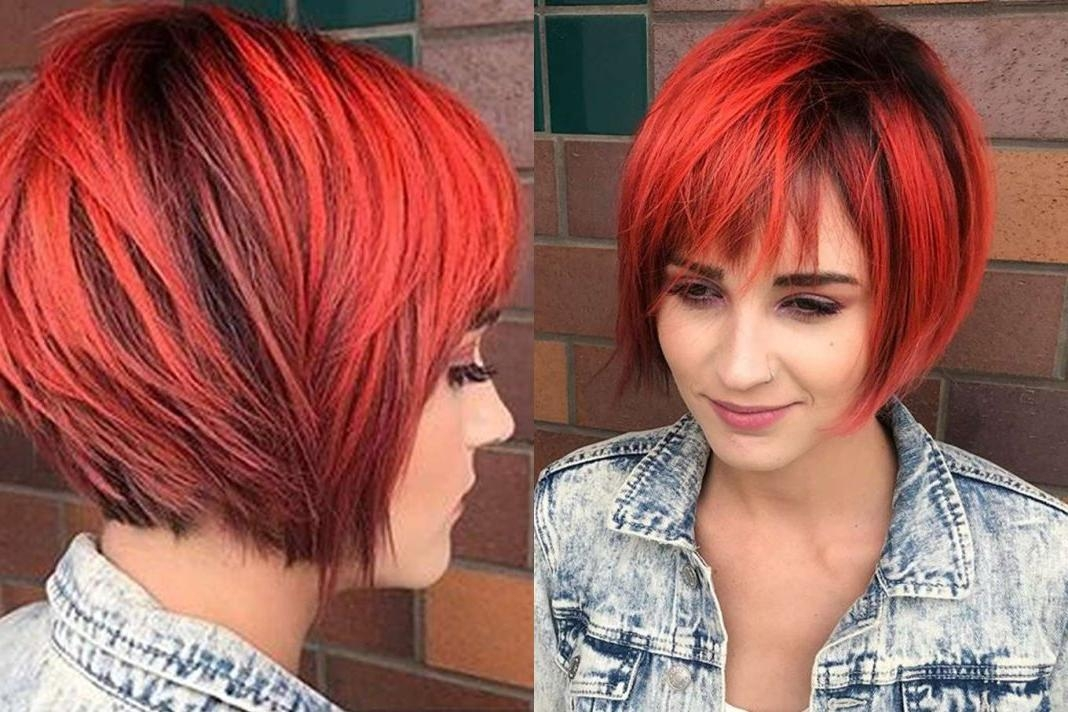 Short Hairstyles Red And Black | Fashion And Women In Red And Black Short Hairstyles (View 20 of 20)