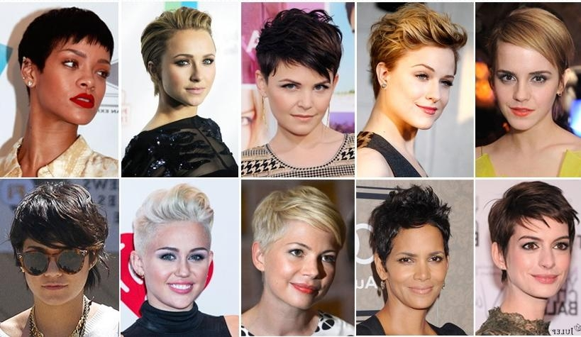 Short Hairstyles Short Cuts For Your Face Shape Within Short Haircuts For Different Face Shapes (View 15 of 20)