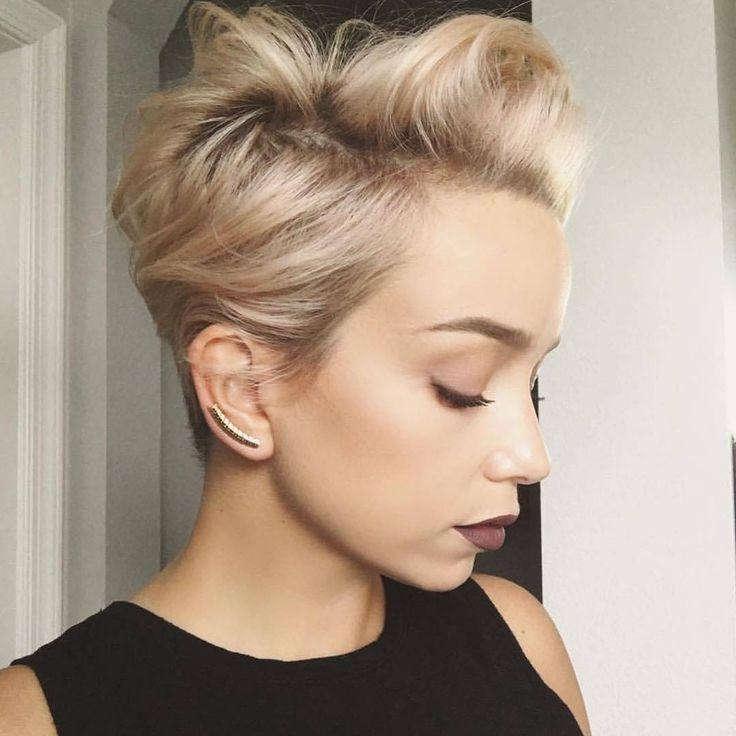 Short Hairstyles : Short Feminine Haircuts For Curly Hair Short Inside Feminine Short Hairstyles For Women (View 10 of 20)