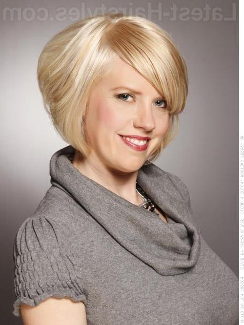 Short Hairstyles: Short Hairstyles Fine Hair Long And Round Faces For Short Haircuts For Blondes With Thin Hair (View 19 of 20)