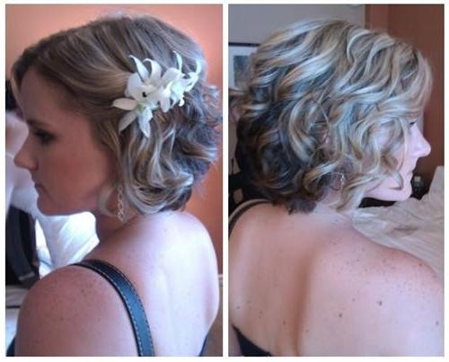 Short Hairstyles: Short Hairstyles For Bridesmaids Wedding Formal Regarding Short Hairstyles For Bridesmaids (View 3 of 20)