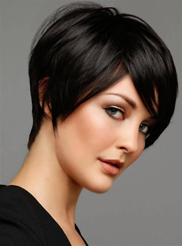 Short Hairstyles: Short Hairstyles For Coarse Thick Hair 2016 With Short Hairstyles Thick Straight Hair (View 20 of 20)