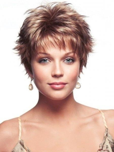20 Best Collection Of Short Hairstyles For Round Faces And