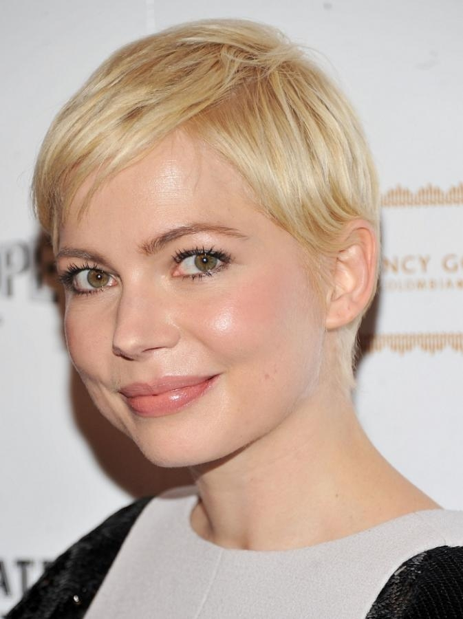 Short Hairstyles : Short Hairstyles For Round Faces The With Regard To Short Hairstyles For Thin Fine Hair And Round Face (View 17 of 20)