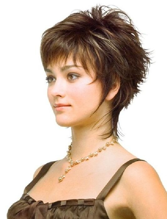 Short Hairstyles: Short Hairstyles For Thinning Hair On Top Inside Short Hairstyles For Thin Fine Hair And Round Face (View 18 of 20)