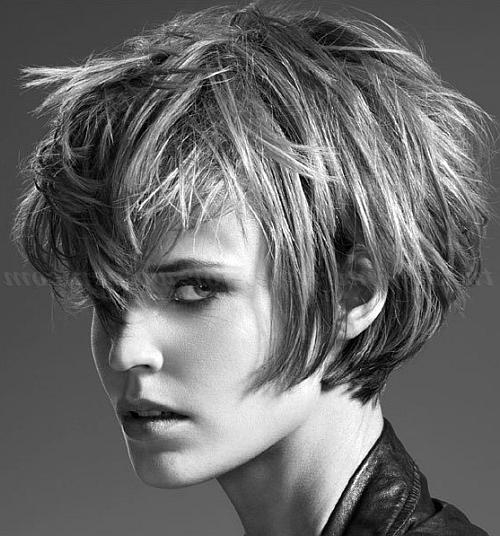 Short Hairstyles – Short Messy Hairstyle | Trendy Hairstyles For Intended For Messy Short Haircuts For Women (View 16 of 20)