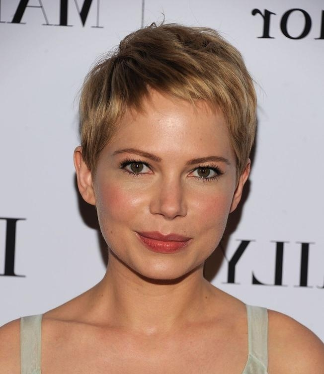 Short Hairstyles : Short Womens Haircuts For Thin Hair Short With Feminine Short Hairstyles For Women (View 17 of 20)