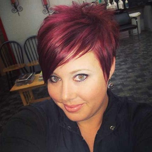 Short Hairstyles: Super Cute Short Hairstyles Haircuts Style Super For Short Haircuts With Red Color (View 14 of 20)