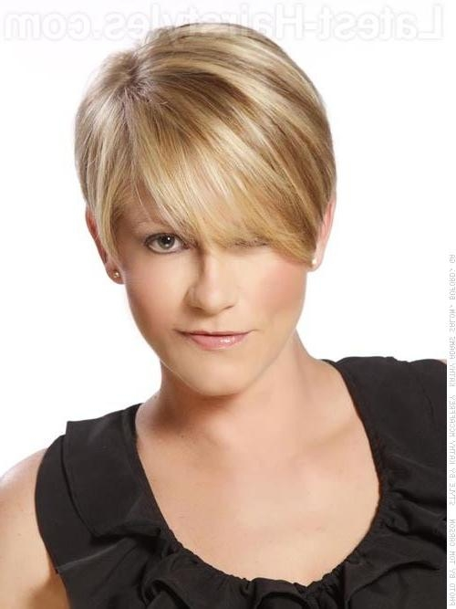 Short Hairstyles: Very Cute Short Hairstyles Simple Ideas Regarding Short Hairstyles Cut Around The Ears (View 19 of 20)