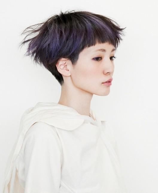 Featured Photo of Short Hairstyles With Blunt Bangs