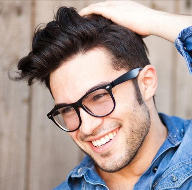 Short Hairstyles With Glasses For Men | Haircuts, Hairstyles 2017 Pertaining To Short Hairstyles For Glasses Wearers (View 18 of 20)