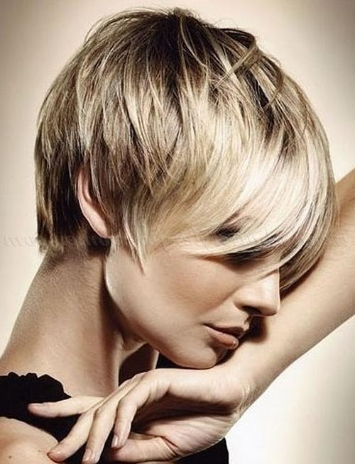 Short Hairstyles With Long Bangs – Long Fringe With Short Hair Intended For Short Haircuts With Long Fringe (View 11 of 20)