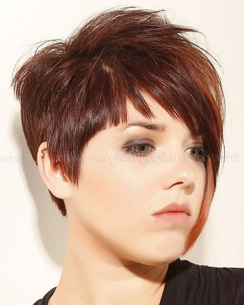 Short Hairstyles With Long Bangs – Short Asymmetrical Hairstyle Throughout Asymmetrical Short Hairstyles (View 18 of 20)