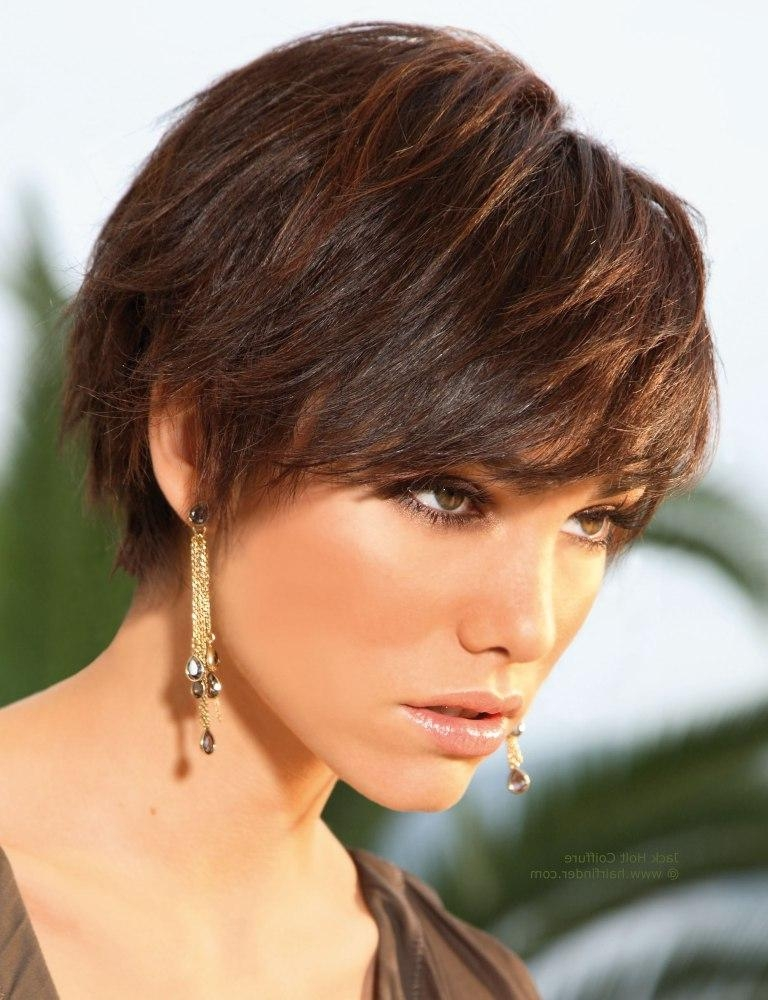 Short Layered Boyish Hairstyle With Easy Styling Pertaining To Feminine Short Hairstyles For Women (View 18 of 20)