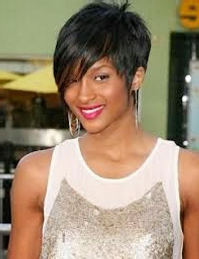 Short Layered Haircuts For Female For Layered Short Haircuts For Black Women (View 18 of 20)
