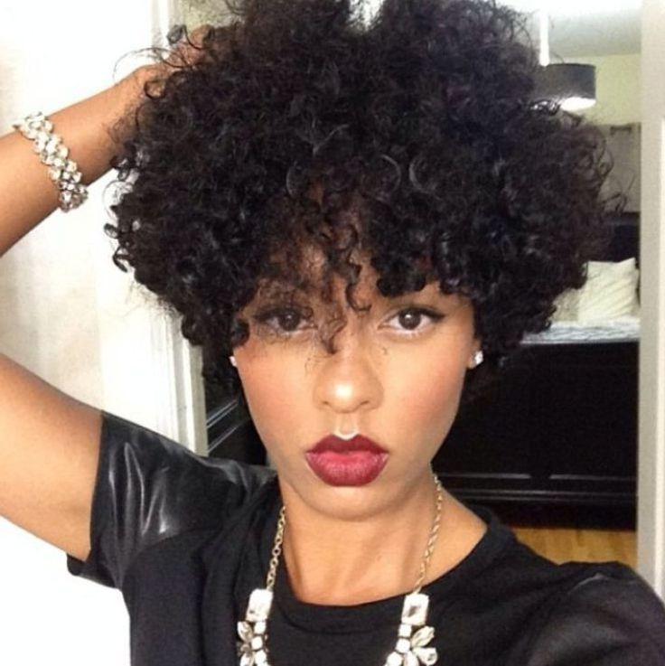 Short Natural Curly Hairstyles For Black Womenbest Hairstyles Pertaining To Short Haircuts For Naturally Curly Black Hair (View 19 of 20)