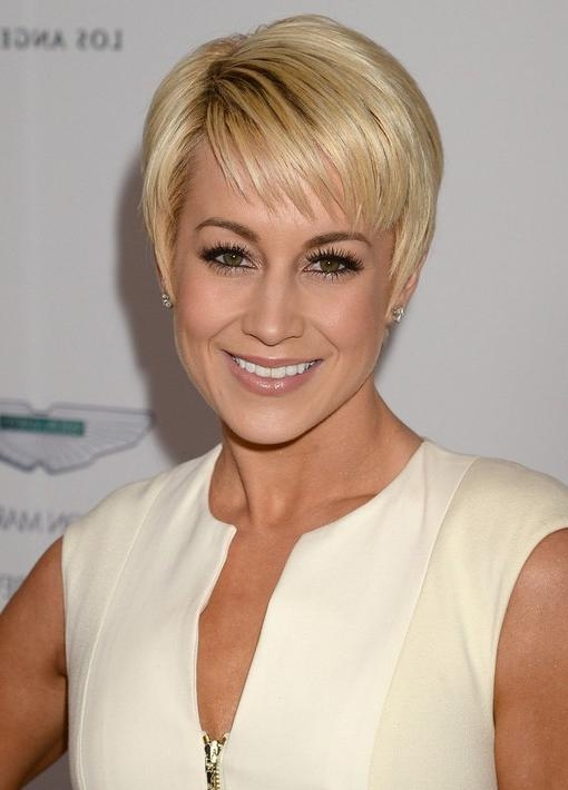 Short Pixie Cut For 2014: Trendy Pixie Haircut With Wispy Bangs With Short Hairstyles With Wispy Bangs (View 19 of 20)