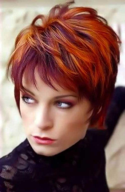 Short Red Hairstyles – 2017 Creative Hairstyle Ideas – Hairstyles With Regard To Red Short Hairstyles (View 19 of 20)