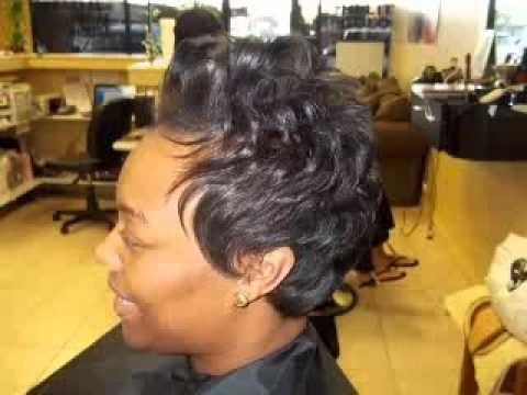 Short Soft Hairstyles For Women – Youtube Intended For Soft Short Hairstyles For Black Women (View 14 of 20)