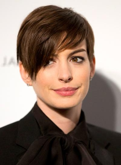 Short, Straight, Brunette Hairstyles – Beauty Riot Within Brunette Short Hairstyles (View 20 of 20)