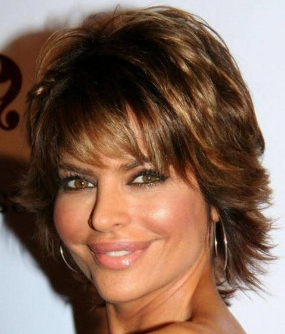 Short Thick Wavy Hairstyles For Women Over 40 | Natural Hair Care Regarding Short Hairstyles For Thick Hair Over 40 (Gallery 6 of 20)