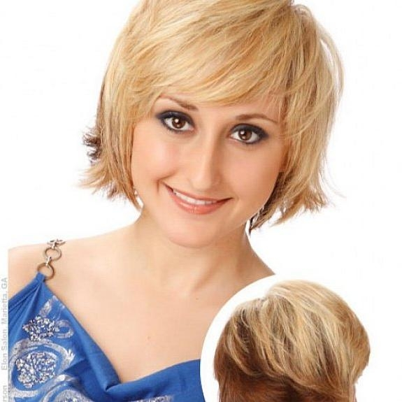 Short To Medium Hairstyles For Thin Fine Hair – Women Hairstyles Throughout Short Hairstyles For Round Faces And Thin Fine Hair (View 19 of 20)