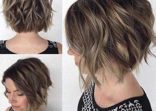 Short Wavy Haircuts | Short Hairstyles 2016 – 2017 | Most Popular With Thick Curly Hair Short Hairstyles (View 17 of 20)