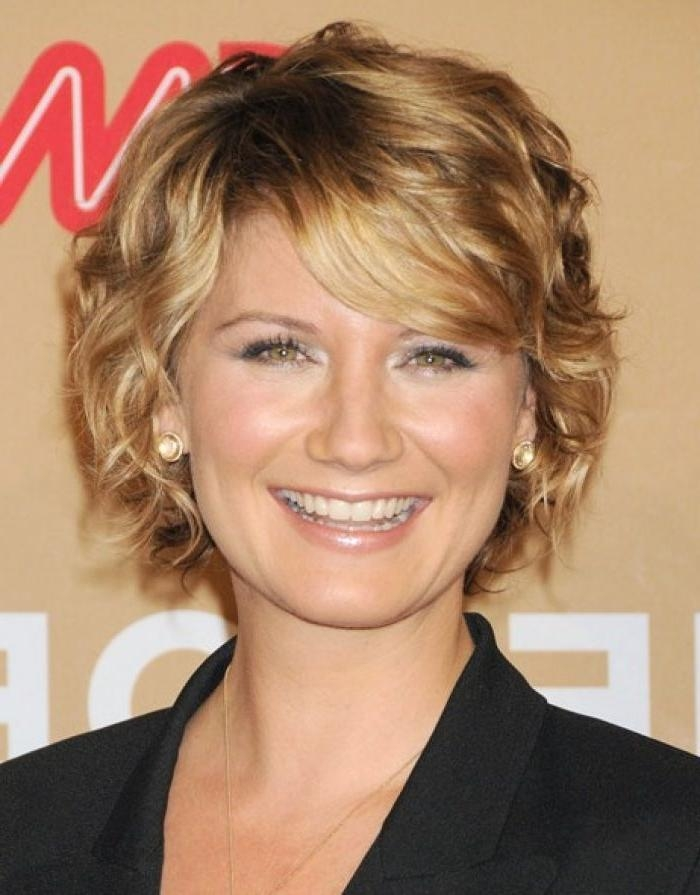 Short Wavy Hairstyles For Round Faces (8) : Trends For Girls & Womens With Regard To Short Haircuts For Wavy Hair And Round Faces (View 17 of 20)