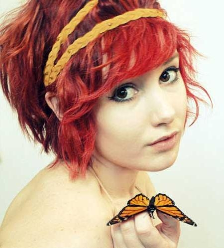 Short Wavy Red Hair | Short Hairstyles 2016 – 2017 | Most Popular Inside Short Haircuts With Red Hair (View 5 of 20)