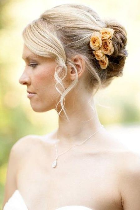 Short Wedding Hairstyles | Short Hairstyles 2016 – 2017 | Most Regarding Short Hairstyles For Bridesmaids (View 19 of 20)