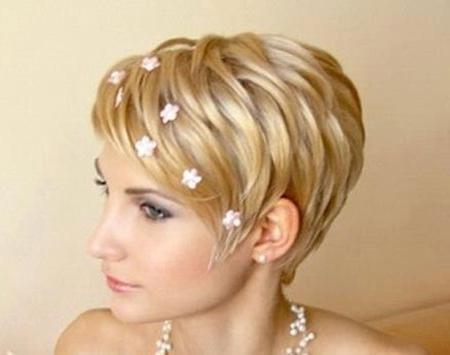 Short Wedding Hairstyles | Short Hairstyles 2016 – 2017 | Most Throughout Short Hairstyles For Bridesmaids (View 20 of 20)