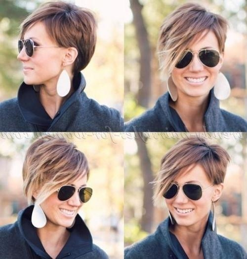 Short+hairstyles+with+long+bangs,+short+hair+long+fringe+ +short+ Pertaining To Short Haircuts With Longer Bangs (View 16 of 20)