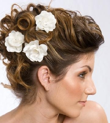 Simple Indian Wedding Hairstyles For Short Hair | Wedding Ideas In Short Hairstyles For Indian Wedding (View 16 of 20)