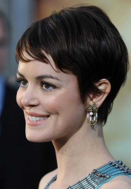 Soft Short Feminine Hairstyles 2013 – Feminine Short Haircuts For Feminine Short Hairstyles For Women (View 4 of 20)