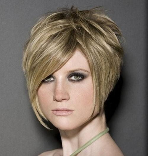Stacked Short Bob Hairstyles For Square Faces – Cool & Trendy Pertaining To Short Hairstyles For Wide Faces (View 20 of 20)