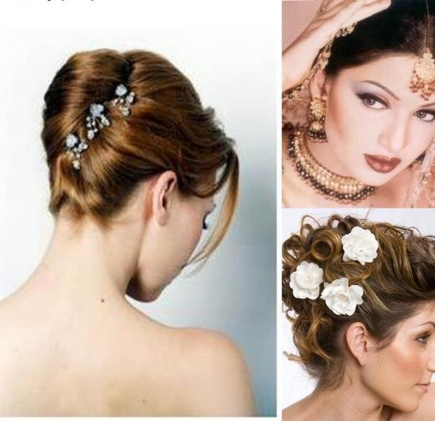 Stepping Out In Style With The Best Indian Hairstyles For Short With Short Hairstyles For Indian Wedding (View 15 of 20)
