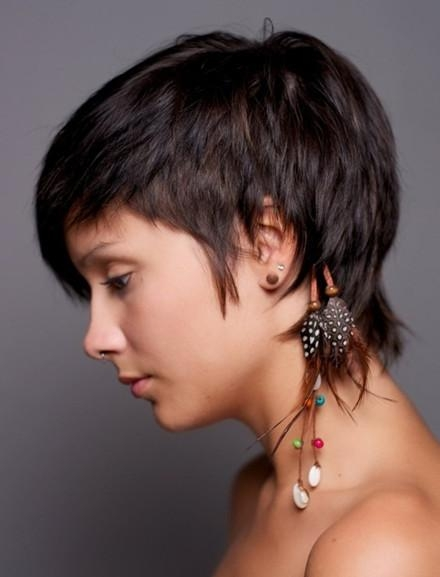 Straight Cropped Hairstyles: Very Short Haircuts For Women Pertaining To Cropped Short Hairstyles (View 14 of 20)