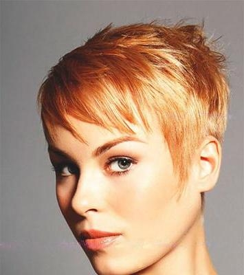 Strawberry Blonde And Pixie Inside Strawberry Blonde Short Hairstyles (View 19 of 20)