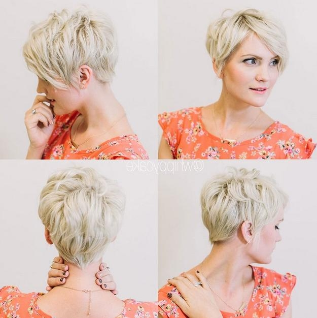 Stunning Short Layered Hairstyles – Carolin Style Throughout Short Hairstyles For Thick Hair Over  (View 20 of 20)
