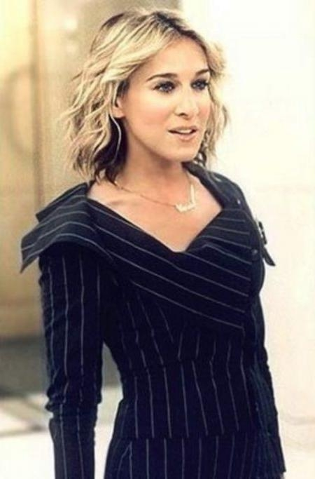 Stylish As Well As Stunning Carrie Bradshaw Short Hairstyles For Intended For Carrie Bradshaw Short Hairstyles (View 17 of 20)