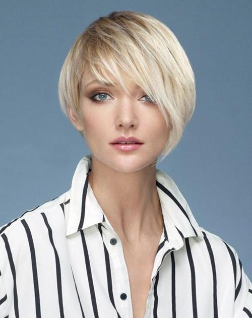 Stylish Hairstyles With Bangs And Layers For Short Hair – New With Regard To Short Hairstyles With Bangs And Layers (View 20 of 20)