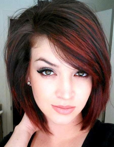 Featured Photo of Short Hairstyles With Red Highlights