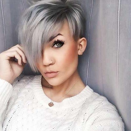 Super Asymmetrical Haircut Ideas For An Appealing Style | Short Within Asymmetric Short Haircuts (View 3 of 20)