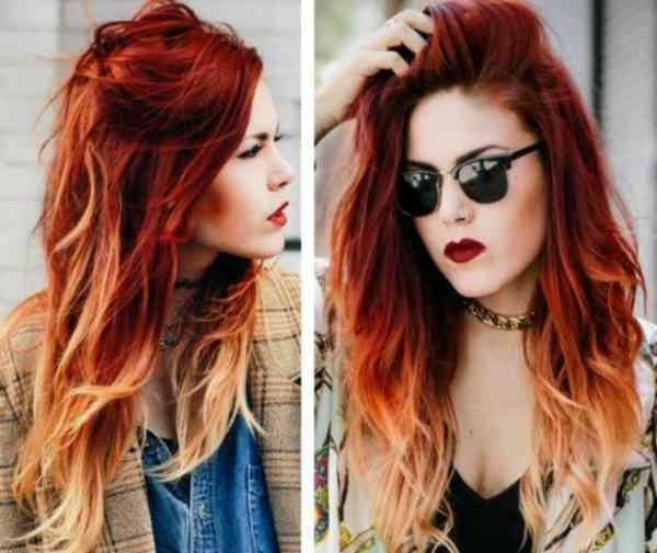 Textured Modern Fire Red Short Hairstyles | Simple Stylish Haircut Intended For Fire Red Short Hairstyles (View 18 of 20)