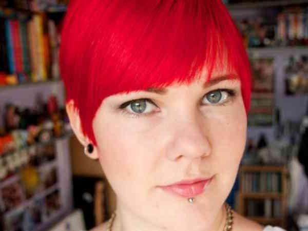 Textured Modern Fire Red Short Hairstyles | Simple Stylish Haircut With Regard To Fire Red Short Hairstyles (View 20 of 20)