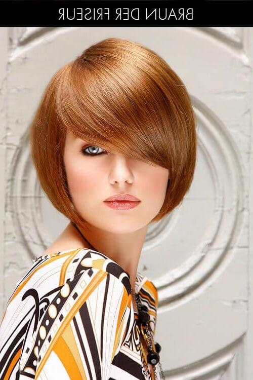 The 21 Most Flattering Bob Hairstyles For Round Faces Pertaining To Short Hairstyles For Heavy Round Faces (View 18 of 20)