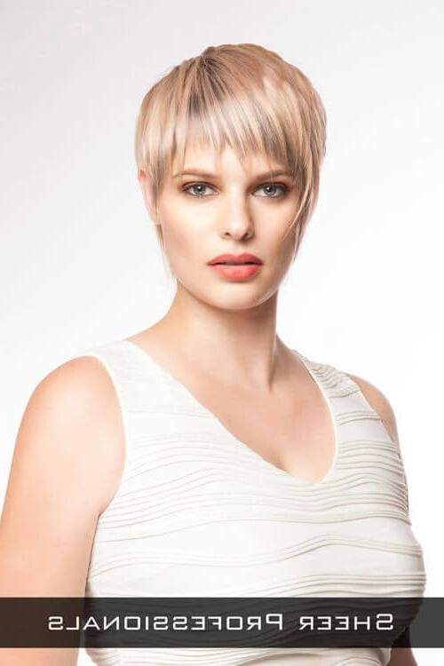 The 24 Ultimate Short Hairstyles For Long Faces With Short Haircuts For Long Faces (View 7 of 20)