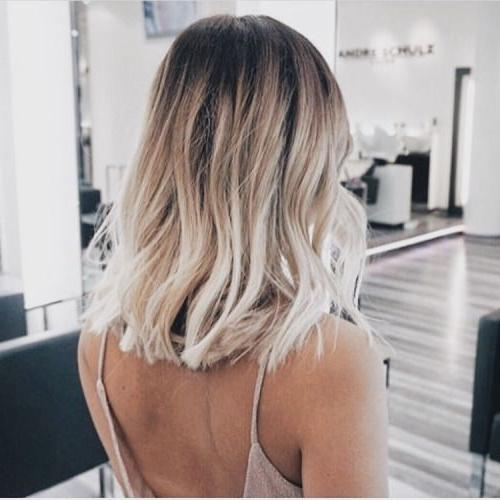 The 25+ Best Balayage Short Hair Ideas On Pinterest | Short Throughout Short Hairstyles With Balayage (View 20 of 20)
