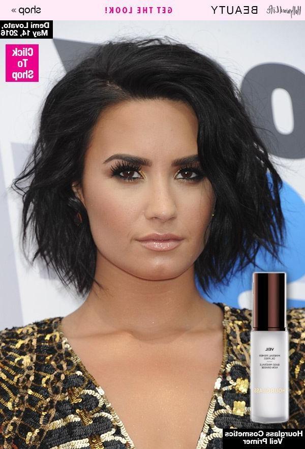 The 25+ Best Demi Lovato Short Hair Ideas On Pinterest | Demi Inside Demi Lovato Short Hairstyles (View 12 of 20)