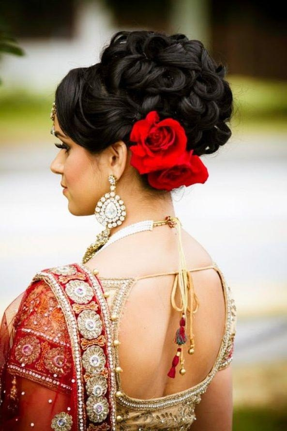 The 25+ Best Indian Wedding Hairstyles Ideas On Pinterest | Indian Within Short Hairstyles For Indian Wedding (View 10 of 20)